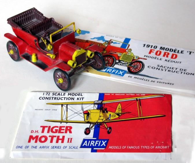 A vintage model kit
