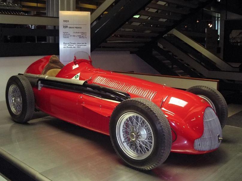 Alfa Romeo 159, 1951 title-winning F1 car