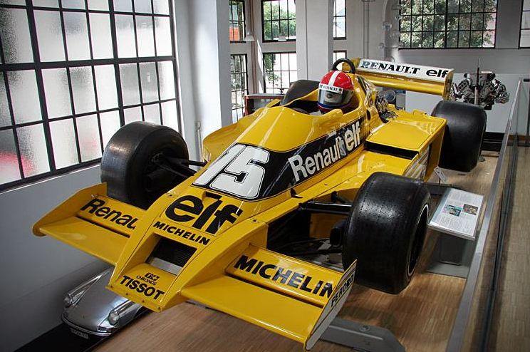 Renault RS-01, first F1 car powered by a turbo engine
