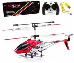Cheerwing S107/S107G Phantom 3CH 3.5 Channel Mini RC Helicopter with Gyro Crimson