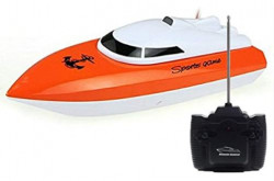 SZJJX RC Boat, Remote Control Racing Boats for Pools and Lakes, 10KM/H Mini Speed Boat Toys